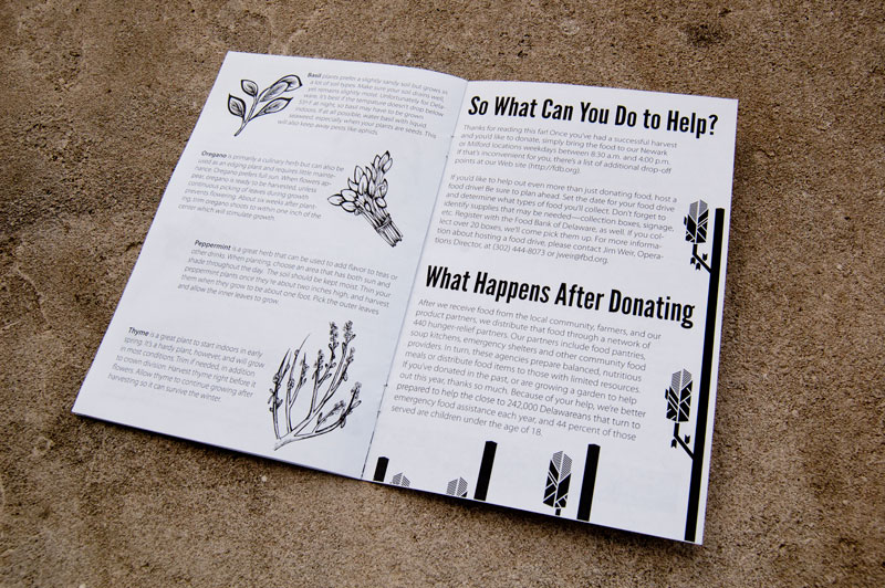 Food Bank Zine